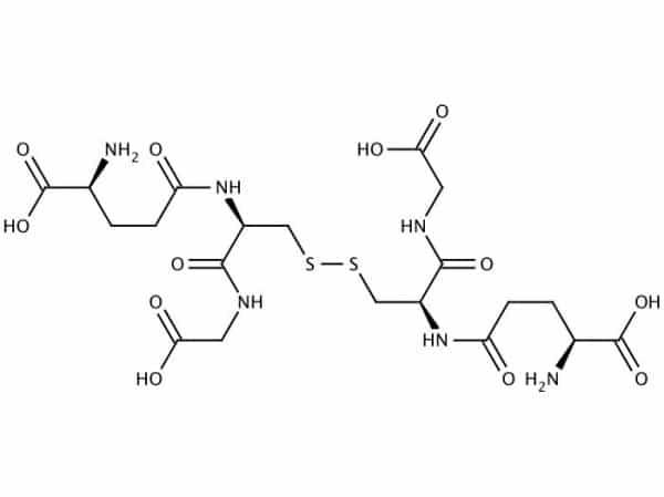 Strukturformel Glutathion