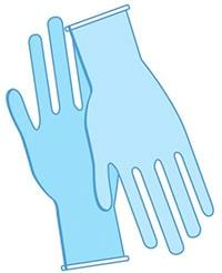 coronavirus handschuhe