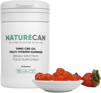 Vegane CBD Multivitamin Gummibärchen