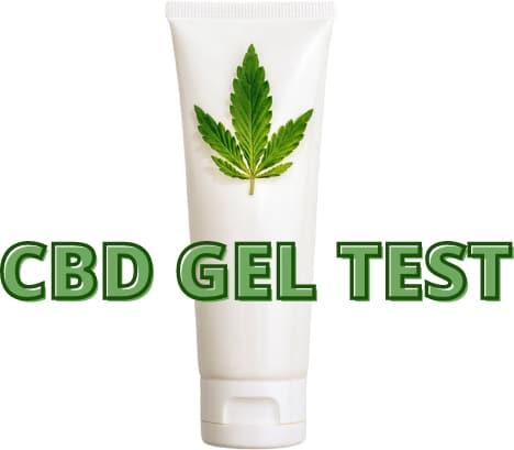 CBD GEL TEST