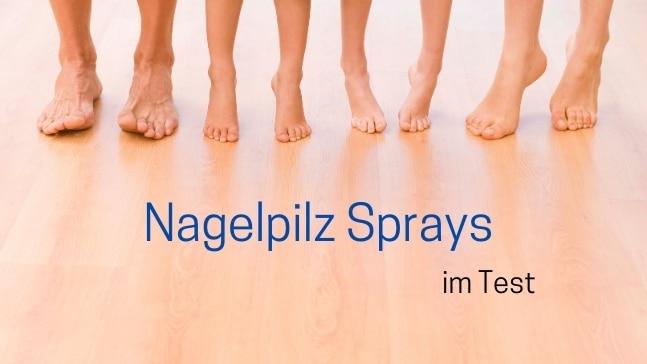 Nagelpilz-Sprays-Test